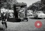 Image of Sanitation trucks and workers Paris France, 1953, second 37 stock footage video 65675032388