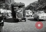 Image of Sanitation trucks and workers Paris France, 1953, second 38 stock footage video 65675032388