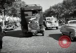 Image of Sanitation trucks and workers Paris France, 1953, second 39 stock footage video 65675032388