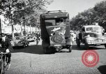 Image of Sanitation trucks and workers Paris France, 1953, second 41 stock footage video 65675032388