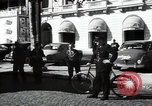 Image of Sanitation trucks and workers Paris France, 1953, second 50 stock footage video 65675032388