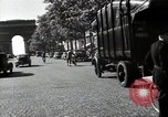 Image of Sanitation trucks and workers Paris France, 1953, second 60 stock footage video 65675032388