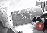 Image of large volume titled history on desk United States USA, 1951, second 2 stock footage video 65675032397