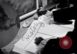 Image of large volume titled history on desk United States USA, 1951, second 37 stock footage video 65675032397