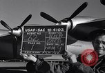 Image of Convair B-36 taxiing Fort Worth Texas USA, 1951, second 5 stock footage video 65675032402