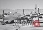Image of B-50 Superfortress and crew Tucson Arizona USA, 1951, second 2 stock footage video 65675032409