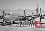 Image of B-50 Superfortress and crew Tucson Arizona USA, 1951, second 4 stock footage video 65675032409