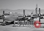 Image of B-50 Superfortress and crew Tucson Arizona USA, 1951, second 7 stock footage video 65675032409