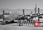 Image of B-50 Superfortress and crew Tucson Arizona USA, 1951, second 10 stock footage video 65675032409