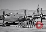 Image of B-50 Superfortress and crew Tucson Arizona USA, 1951, second 11 stock footage video 65675032409
