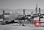 Image of B-50 Superfortress and crew Tucson Arizona USA, 1951, second 13 stock footage video 65675032409