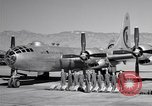 Image of B-50 Superfortress and crew Tucson Arizona USA, 1951, second 14 stock footage video 65675032409