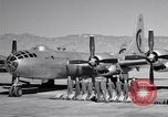 Image of B-50 Superfortress and crew Tucson Arizona USA, 1951, second 15 stock footage video 65675032409