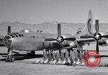 Image of B-50 Superfortress and crew Tucson Arizona USA, 1951, second 16 stock footage video 65675032409