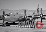 Image of B-50 Superfortress and crew Tucson Arizona USA, 1951, second 17 stock footage video 65675032409