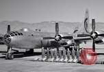 Image of B-50 Superfortress and crew Tucson Arizona USA, 1951, second 18 stock footage video 65675032409