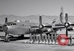 Image of B-50 Superfortress and crew Tucson Arizona USA, 1951, second 20 stock footage video 65675032409