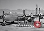 Image of B-50 Superfortress and crew Tucson Arizona USA, 1951, second 21 stock footage video 65675032409