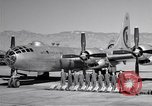 Image of B-50 Superfortress and crew Tucson Arizona USA, 1951, second 22 stock footage video 65675032409