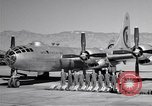 Image of B-50 Superfortress and crew Tucson Arizona USA, 1951, second 23 stock footage video 65675032409