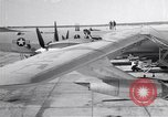 Image of Convair B-36 and airmen Fort Worth Texas USA, 1951, second 1 stock footage video 65675032412