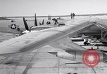 Image of Convair B-36 and airmen Fort Worth Texas USA, 1951, second 2 stock footage video 65675032412