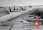 Image of Convair B-36 and airmen Fort Worth Texas USA, 1951, second 7 stock footage video 65675032412