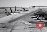 Image of Convair B-36 and airmen Fort Worth Texas USA, 1951, second 8 stock footage video 65675032412