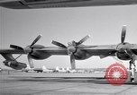 Image of Convair B-36 and airmen Fort Worth Texas USA, 1951, second 22 stock footage video 65675032412