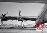 Image of Convair B-36 and airmen Fort Worth Texas USA, 1951, second 27 stock footage video 65675032412