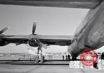 Image of Convair B-36 and airmen Fort Worth Texas USA, 1951, second 28 stock footage video 65675032412