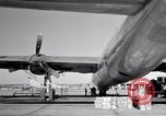 Image of Convair B-36 and airmen Fort Worth Texas USA, 1951, second 29 stock footage video 65675032412