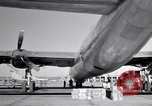 Image of Convair B-36 and airmen Fort Worth Texas USA, 1951, second 30 stock footage video 65675032412