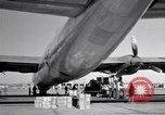 Image of Convair B-36 and airmen Fort Worth Texas USA, 1951, second 33 stock footage video 65675032412