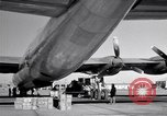 Image of Convair B-36 and airmen Fort Worth Texas USA, 1951, second 35 stock footage video 65675032412