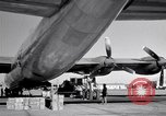 Image of Convair B-36 and airmen Fort Worth Texas USA, 1951, second 36 stock footage video 65675032412