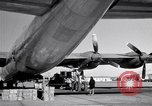 Image of Convair B-36 and airmen Fort Worth Texas USA, 1951, second 37 stock footage video 65675032412