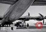 Image of Convair B-36 and airmen Fort Worth Texas USA, 1951, second 40 stock footage video 65675032412