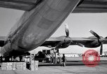 Image of Convair B-36 and airmen Fort Worth Texas USA, 1951, second 42 stock footage video 65675032412
