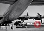 Image of Convair B-36 and airmen Fort Worth Texas USA, 1951, second 43 stock footage video 65675032412