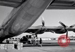 Image of Convair B-36 and airmen Fort Worth Texas USA, 1951, second 47 stock footage video 65675032412