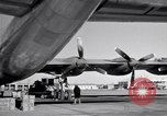Image of Convair B-36 and airmen Fort Worth Texas USA, 1951, second 48 stock footage video 65675032412