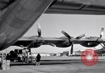 Image of Convair B-36 and airmen Fort Worth Texas USA, 1951, second 49 stock footage video 65675032412