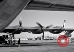 Image of Convair B-36 and airmen Fort Worth Texas USA, 1951, second 50 stock footage video 65675032412