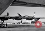 Image of Convair B-36 and airmen Fort Worth Texas USA, 1951, second 51 stock footage video 65675032412