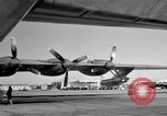 Image of Convair B-36 and airmen Fort Worth Texas USA, 1951, second 52 stock footage video 65675032412