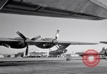 Image of Convair B-36 and airmen Fort Worth Texas USA, 1951, second 55 stock footage video 65675032412