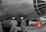 Image of pre-flight inspection of Convair B-36 and crew Fort Worth Texas USA, 1951, second 49 stock footage video 65675032420