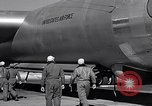 Image of pre-flight inspection of Convair B-36 and crew Fort Worth Texas USA, 1951, second 54 stock footage video 65675032420