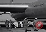 Image of pre-flight inspection of Convair B-36 and crew Fort Worth Texas USA, 1951, second 57 stock footage video 65675032420